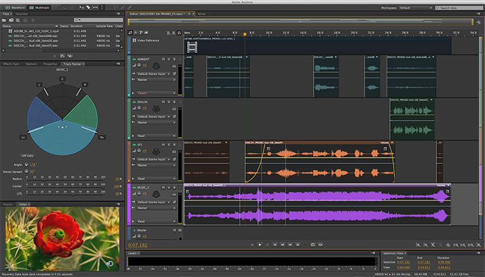 Adobe Audition screenshot